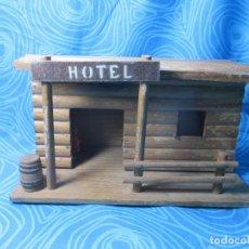 Figuras de Goma y PVC: ANTIGUO HOTEL COMANSI. Lote 191262871