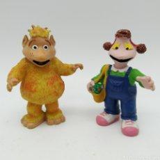 Figuras de Goma y PVC: YUPI Y CANICA DE LOS MUNDO SDE YUPI DE COMICS SPAIN AÑO 1988. Lote 191314073