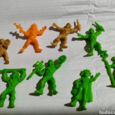 Figuras de Borracha e PVC: LOTE 8 FIGURAS MASTERS DEL UNIVERSO DUNKIN PANRICO HE MAN Y OTROS. Lote 191334917
