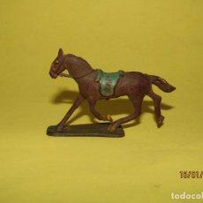 Figuras de Borracha e PVC: ANTIGUO CABALLO EN GOMA PINTADA DE ALCA CAPELL - REAMSA JECSAN PECH. Lote 191349067