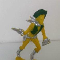 Figuras de Goma y PVC: ANTIGUO VAQUERO LARGO GRANDE ESTILIZADO DEL OESTE - PIPERO LAFREDO - AÑOS 60 - EN SU BOLSA ORIGINAL . Lote 191408381