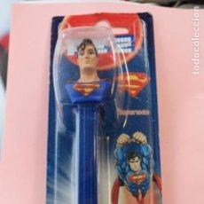 Figuras de Borracha e PVC: DISPENSADOR CARAMELOS PEZ SUPERMAN. Lote 191458710