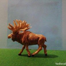 Figuras de Goma y PVC: ALCE DE PECH. LEER. Lote 191495972