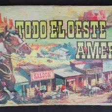 Figuras de Goma y PVC: COMANSI TODO EL OESTE AMERICANO CAJA. Lote 191528507