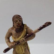 Figuras de Borracha e PVC: HOMBRE PRIMITIVO - CAVERNICOLA . REALIZADO POR JECSAN . SERIE ANTIDILUVIANOS . AÑOS 50 EN GOMA. Lote 191555886