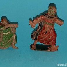 Figuras de Goma y PVC: DOS FIGURAS REAMSA, SERIE LAWRENCE DE ARABIA., EN GOMA... Lote 191691245
