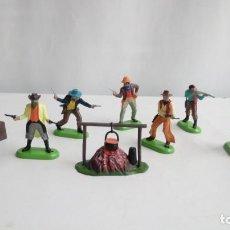 Figuras de Goma y PVC: LOTE DE 6 FIGURAS BRITAINS. Lote 191770951