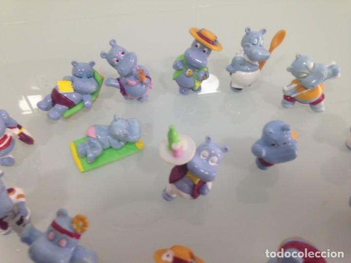 Figuras Kinder: KINDER,THE HIPPOS , 16 FIGURAS DE HIPOPOTAMOS - Foto 6 - 191191011