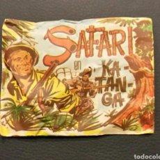 Figuras de Goma y PVC: MINI SOBRE CERRADO SAFARI EN KATANGA SERJAN TIPO MONTAPLEX. Lote 191835656