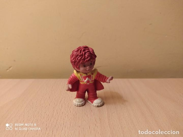 FIGURA RAINBOW BRITE PVC SCHLEICH W. GERMANY 1983 RED BUTTLER NIÑOS ARCOIRIS ESCASA (Juguetes - Figuras de Goma y Pvc - Schleich)