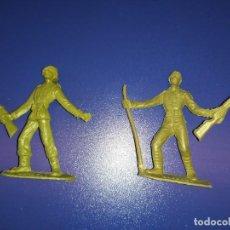 Figuras de Goma y PVC: SOLDADOS DEL MUNDO COMANSI PRIMERA ÉPOCA JAPONÉS 6 ESPAÑOL MONOCROMO. Lote 191901080