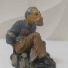 Figuras de Goma y PVC: ELASTOLIN PRISIONERO. Lote 191936623