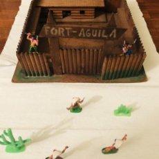 Figuras de Goma y PVC: FORT FUERTE AGUILA. DE MADERA. AÑOS 50-60 (COMANSI, JECSAN, SOTORRES ETC.). Lote 192008181