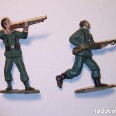 Figuras de Goma y PVC: SOLDADOS ANTIGUOS GUARDIA CIVIL BRUVER. Lote 192010783
