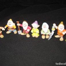 Figuras de Goma y PVC: LOTE 7 ENANITOS DISNEY. Lote 192014023