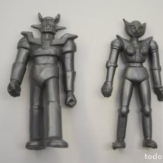 Figuras de Goma y PVC: FIGURAS GOMA Y PVC SERIE MAZINGER Z COMANSI YOLANDA VINTAGE 1980-90 - MAZINGER Z Y AFRODITA. Lote 192151581