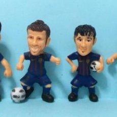 Figuras de Goma y PVC: LOTE FIGURAS FC BARCELONA - ORIGINALES YOLANDA / COMANSI - BARÇA TOONS. Lote 192153243