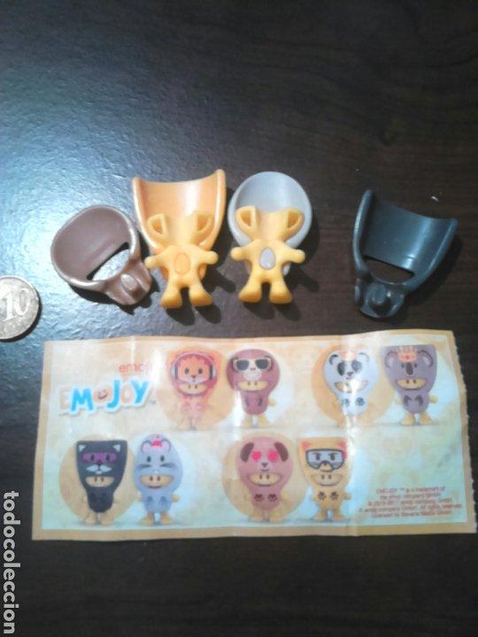 Figuras Kinder: Juguete de coleccion,kinder,emoji emojoy,2015-17 - Foto 2 - 192161106