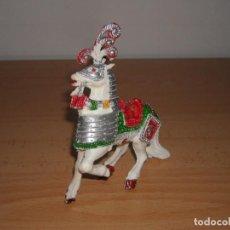 Figuras de Goma y PVC: CABALLO MEDIEVAL, LAFREDO, GOMARSA, AÑOS 60 - 70. Lote 192130040