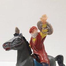Figuras de Goma y PVC: BEN YUSF A CABALLO . REALIZADO POR JECSAN . SERIE BEN YUSUF . ORIGINAL AÑOS 60. Lote 192266650