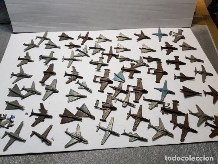 LOTE 50 AVIONES MONTAPLEX VARIOS MODELOS (Juguetes - Figuras de Goma y Pvc - Montaplex)
