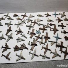 Figuras de Goma y PVC: LOTE 50 AVIONES MONTAPLEX VARIOS MODELOS. Lote 192280178