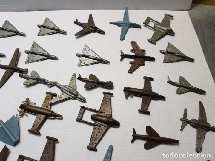 Figuras de Goma y PVC: Lote 50 aviones Montaplex varios Modelos - Foto 2 - 192280178