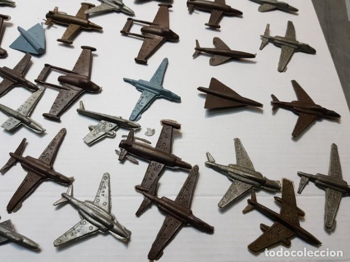 Figuras de Goma y PVC: Lote 50 aviones Montaplex varios Modelos - Foto 3 - 192280178