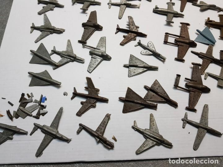 Figuras de Goma y PVC: Lote 50 aviones Montaplex varios Modelos - Foto 5 - 192280178
