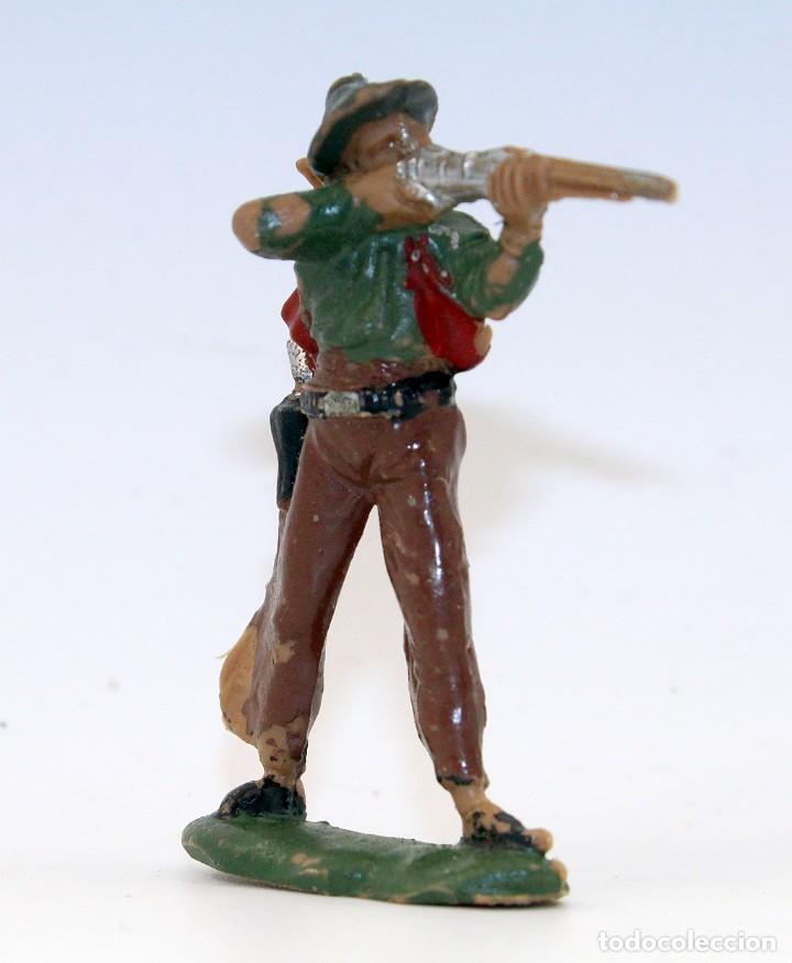 Figuras de Goma y PVC: REAMSA - TEXAS COWBOYS - 60mm - PLASTICO - VAQUERO CON ESCOPETA - AÑOS 1953-1956 - Foto 2 - 192311881