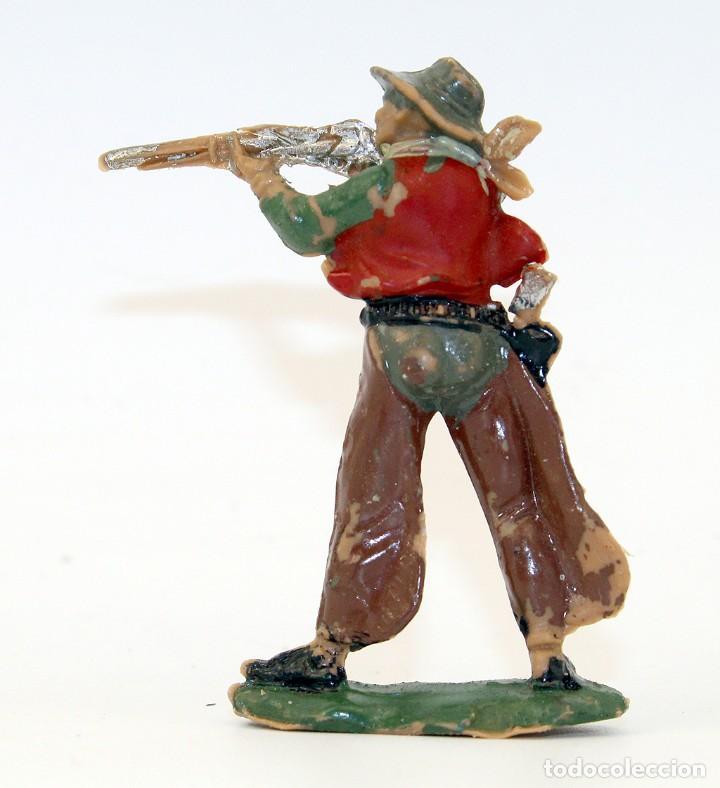 Figuras de Goma y PVC: REAMSA - TEXAS COWBOYS - 60mm - PLASTICO - VAQUERO CON ESCOPETA - AÑOS 1953-1956 - Foto 3 - 192311881