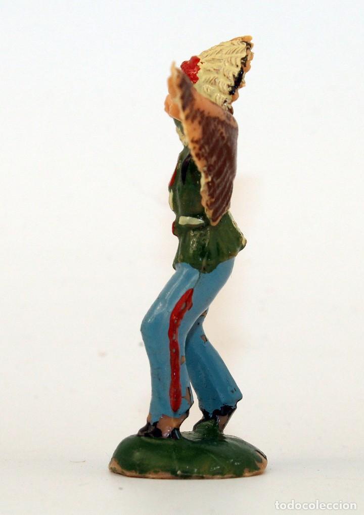 Figuras de Goma y PVC: REAMSA - INDIO COMANCHE - 60mm - PLASTICO - AÑOS 1953-1956 - Foto 2 - 192354645