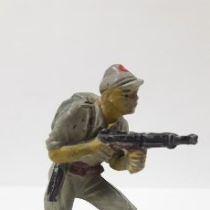 Figuras de Goma y PVC: SOLDADO JAPONES . REALIZADO POR PECH . AÑOS 50 EN GOMA. Lote 192358427