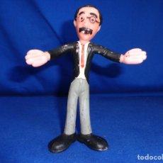Figuras de Goma y PVC: LEMA TOYS - FIGURA FLEXI DE GROUCHO DE LOS HERMANOS MARX, LEMA TOYS MADE IN SPAIN,VER FOTOS! SM. Lote 192396647