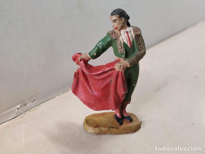 FIGURA DE GOMA TORERO SERIE GRAN PLAZA DE TOROS JECSAN (Juguetes - Figuras de Goma y Pvc - Jecsan)