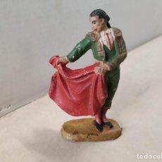 Figuras de Goma y PVC: FIGURA DE GOMA TORERO SERIE GRAN PLAZA DE TOROS JECSAN. Lote 192366422