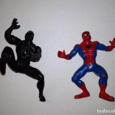 Figuras de Goma y PVC: SPIDERMAN X2 YOLANDA Y COMICS SPAIN FIGURAS PVC AÑOS 80 Y 90 BLACK SPIDERMAN. Lote 192595235