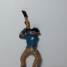 Figuras de Goma y PVC: FIGURA JECSAN DE PLASTICO COWBOYS OESTE 24. Lote 192625346