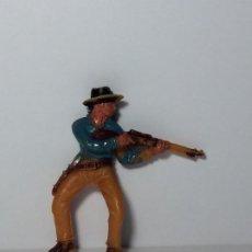 Figuras de Borracha e PVC: FIGURA JECSAN DE PLASTICO COWBOYS OESTE 25. Lote 192625392