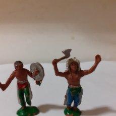 Figuras de Goma y PVC: FIGURAS INDIO EN PLASTICO,JECSAN,REAMSA,PECH. Lote 192667861