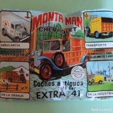 Figuras de Goma y PVC: SOBRE MONTAPLEX. MONTA-MAN CHEVROLET. SIN ABRIR. VER FOTOS. COCHES ANTIGUOS. EXTRA 41.. Lote 192702156