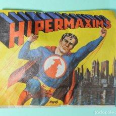 Figuras de Goma y PVC: SOBRE MONTAPLEX O SIMILAR. SIN ABRIR. VER FOTOS. HIPERMAXIM'S. ESPECIE DE SUPERMAN.. Lote 192702270