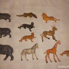 Figuras de Goma y PVC: LOTE DE ANIMALES MORCILLON Y BABALI TEIXIDO. Lote 192744963