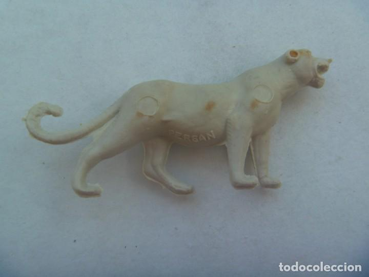 FIGURA DE PERSAN COLECCION ANIMALES : PANTERA (Juguetes - Figuras de Goma y Pvc - Dunkin)
