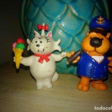 Figuras de Goma y PVC: ISIDORO Y SONIA TAL Y COMO SE VE EN LAS FOTOS . Lote 192753330