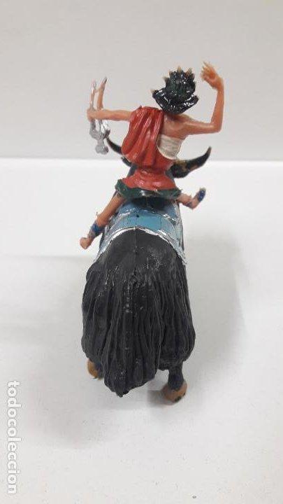 Figuras de Goma y PVC: FIDEO DE MILETO MONTADO EN SU JAK . REALIZADO POR ESTEREOPLAST . SERIE EL JABATO . AÑOS 60 - Foto 6 - 192781081
