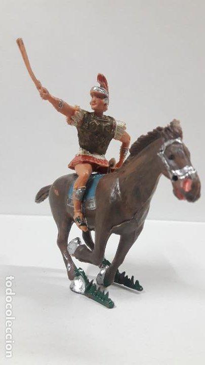 Figuras de Goma y PVC: QUINTO ARRIO A CABALLO . REALIZADO POR ESTEREOPLAST . SERIE EL JABATO . AÑOS 60 - Foto 3 - 192781232