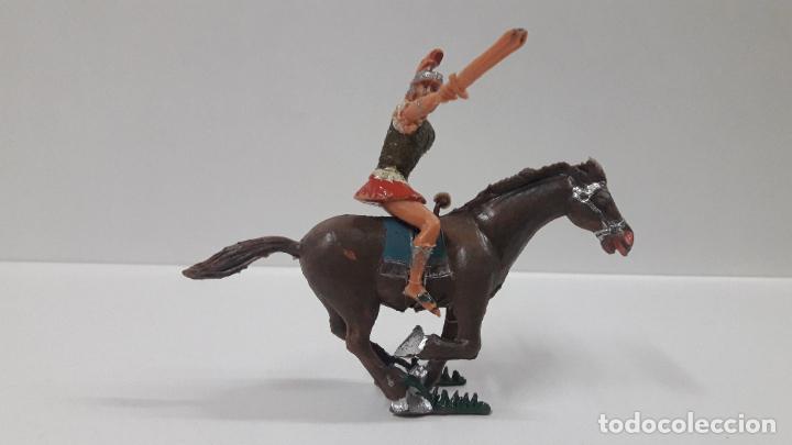 Figuras de Goma y PVC: QUINTO ARRIO A CABALLO . REALIZADO POR ESTEREOPLAST . SERIE EL JABATO . AÑOS 60 - Foto 7 - 192781232