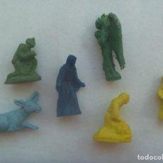 Figuras de Goma y PVC: LOTE DE 6 FIGURAS DE DUNKIN DEL PORTAL DE BELEN. Lote 192810785