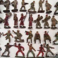 Figuras de Borracha e PVC: LOTE 31 FIGURAS VARIADAS - DESFILE EJERCITO FRANCÉS - INDIOS - STARLUX. Lote 192841733